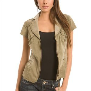 NEW Guess Susie Jacket Military Camo